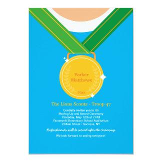 Tarjeta Ganadores de medalla/invitación de la ceremonia de