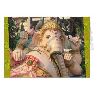 Tarjeta Ganesha que descansa, Tailandia