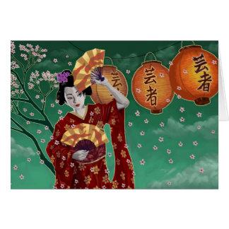Tarjeta Geisha