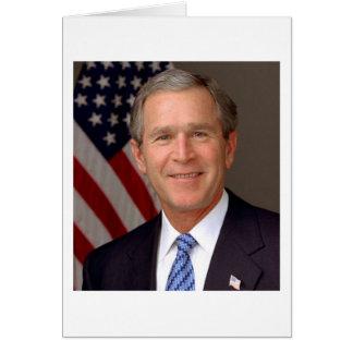 Tarjeta George W. Bush