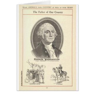 Tarjeta George Washington