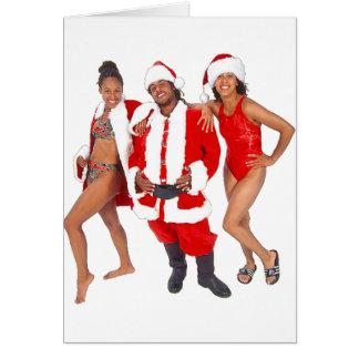 Tarjeta Ghetto Santa y sus duendes de la capilla