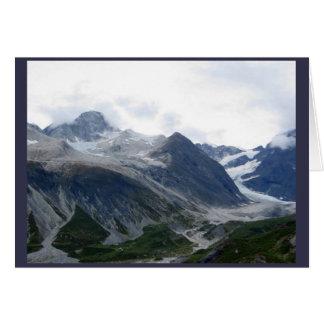 Tarjeta Glacier Bay Alaska septiembre de 2016