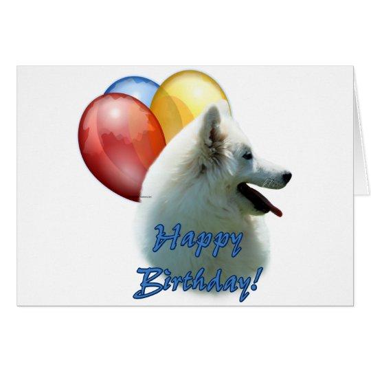 Tarjeta Globo del feliz cumpleaños de Eskie
