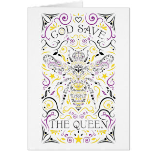 Tarjeta God Save the Queen