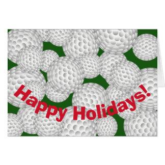 Tarjeta Golf buenas fiestas