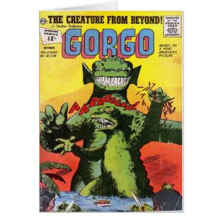 Tarjeta Gorgo la criatura de más allá
