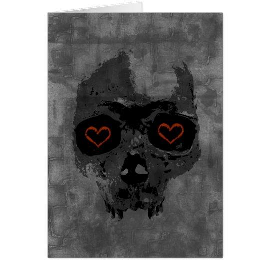 Tarjeta gótica del el día de San Valentín