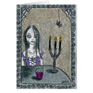 Tarjeta Gótico Halloween