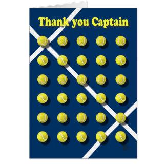 Tarjeta Gracias Captain