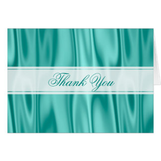 Tarjeta Gracias:   Falsa textura de la tela de satén de la