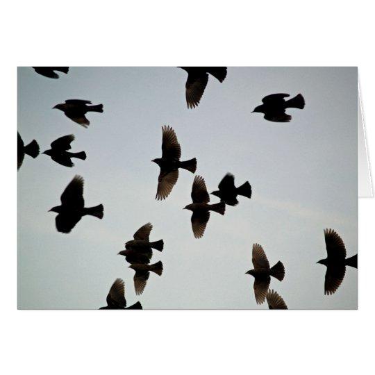 Tarjeta Gracias por las alas