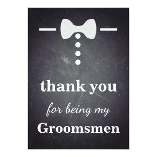 Tarjeta Gracias por ser mis padrinos de boda