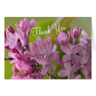Tarjeta Gracias que apreciamos todos usted hace