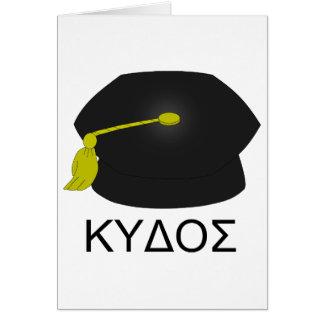 Tarjeta Graduación kudos-Ph.D.