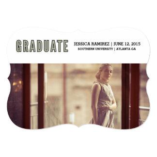 Tarjeta graduado