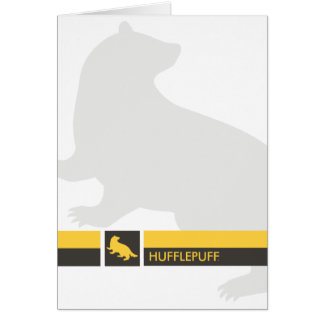 Tarjeta Gráfico del orgullo de la casa de Harry Potter el