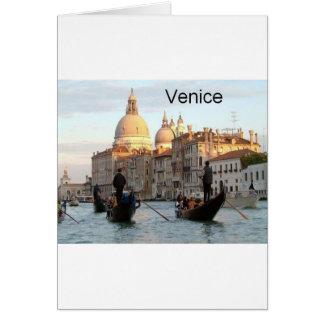 Tarjeta Gran Canal de Italia Venecia (St.K)