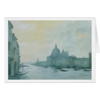 Tarjeta Gran Canal Venecia