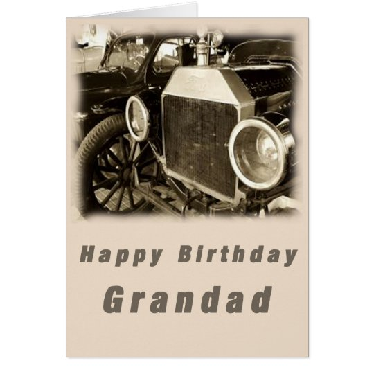 Tarjeta Grandad