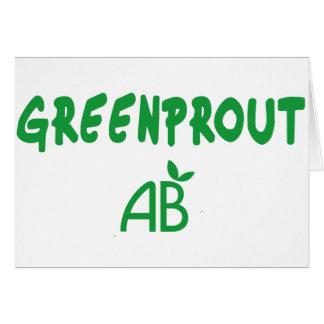 Tarjeta Greenprout ecológico