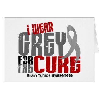 Tarjeta Gris del desgaste del tumor cerebral I para la