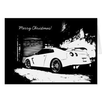 Tarjeta GTR del día de fiesta del navidad del