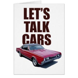 Tarjeta Hablemos los coches 442