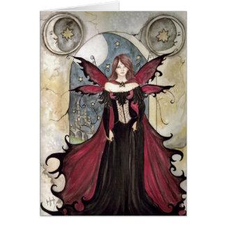 Tarjeta Hada del vampiro