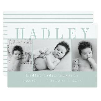 TARJETA HADLEY