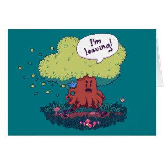Tarjeta Haga como un árbol