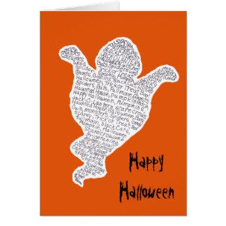 Tarjeta Halloween