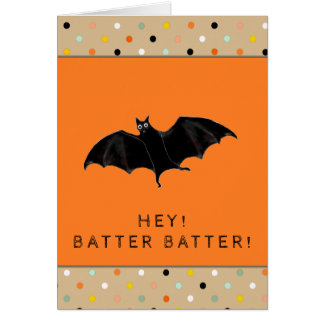 Tarjeta Halloween divertido