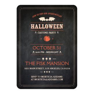 Tarjeta Halloween invita: Spooktacular - personalizable