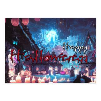 Tarjeta Happy víspera de todos los santos