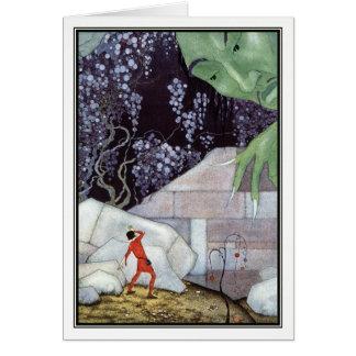 Tarjeta Henry y el gigante de Virginia Frances Sterrett