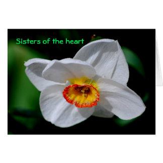 Tarjeta Hermanas del corazón