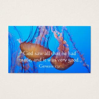 Tarjeta hermosa de la cartera del verso de la