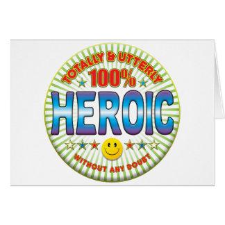 Tarjeta Heroico totalmente