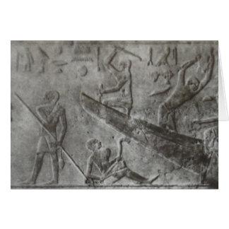 Tarjeta Hieroglyphics egipcios