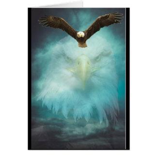 Tarjeta Hijo del feliz cumpleaños de Eagle