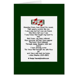 Tarjeta Himno asombroso de la tolerancia
