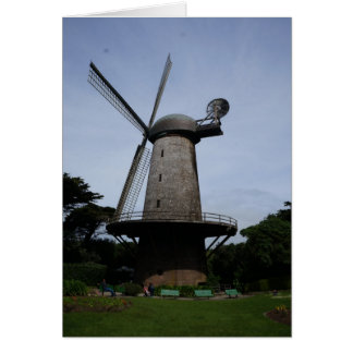 Tarjeta holandesa del molino de viento de San