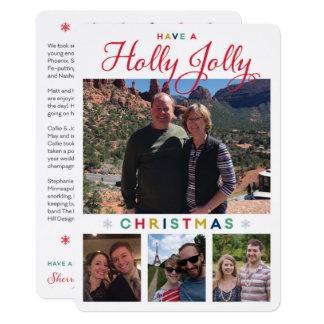 Tarjeta Holly Jolly Kronlage