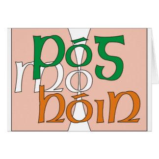 Tarjeta Hon Pog mo