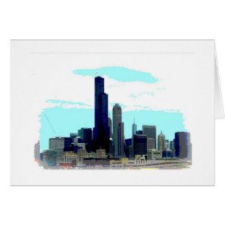 Tarjeta Horizonte de Chicago
