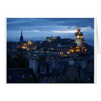 Tarjeta Horizonte de Edimburgo