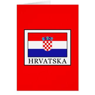 Tarjeta Hrvatska