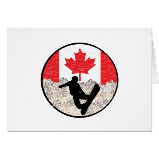 Tarjeta Huéspedes canadienses