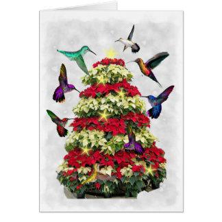 Tarjeta Hummers del navidad